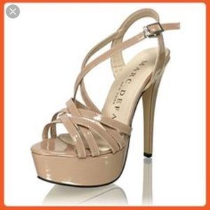 Shoes - Marc Defang Pageant heels (similar to Tippy Tops)